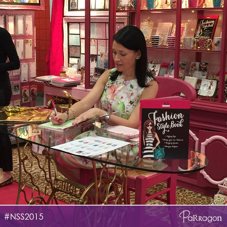 Did you get a FREE copy of our fabulous books from The Bonnie Marcus Collection at the National Stationery Show yesterday? You can still check out our amazing books at Booth #2801! #NSS15