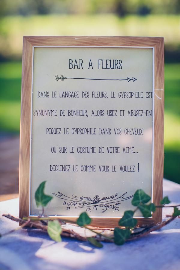 Un bar à Fleur ... Une vraie bonne idée ! Plus