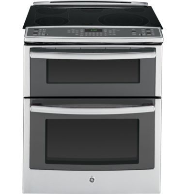 GE Profile™ 30'' Slide-In Double Oven Electric True Convection Range - Sears | Sears Canada