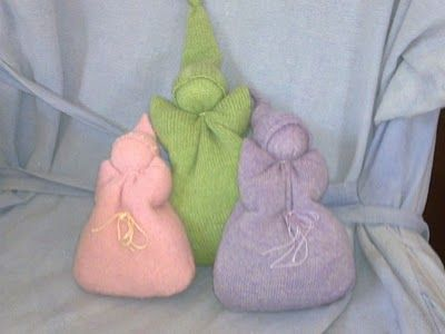 tutorial for baby's first doll...from upcycled wool sweater