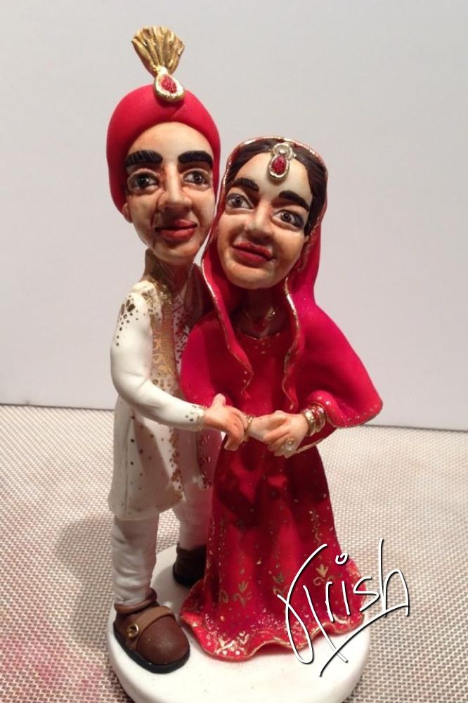 Indian Weddings Inspirations. Wedding Cake Toppers. Repinned By  #indianweddingsmag Indianweddingsmag.com