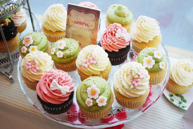【スイーツ】ロンドン発・超キュートなカップケーキ!『MONARCH CUPCAKE』表参道店レポート【写真満載】(1/4) - mimot.(ミモット)