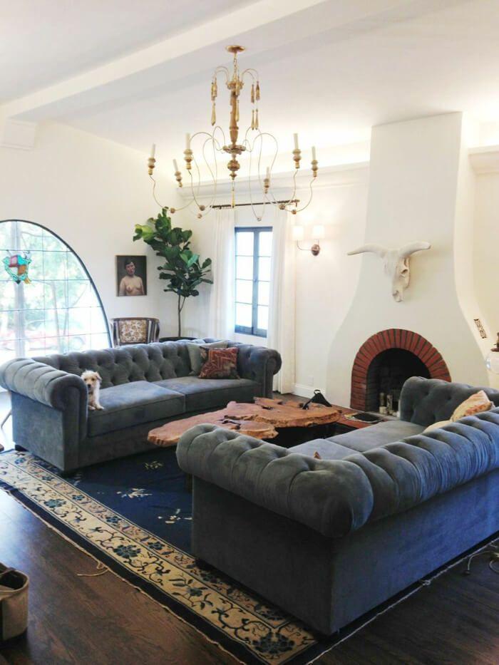 A Spanish Living Room