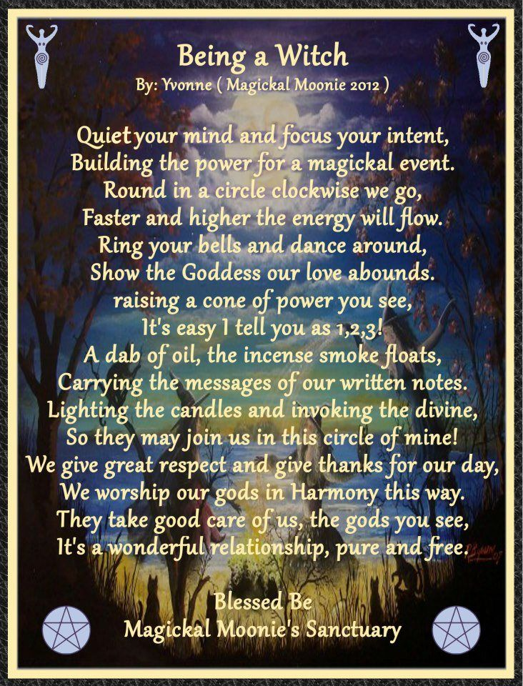 Being a Witch - wicca <3 the most beautiful path i know <3