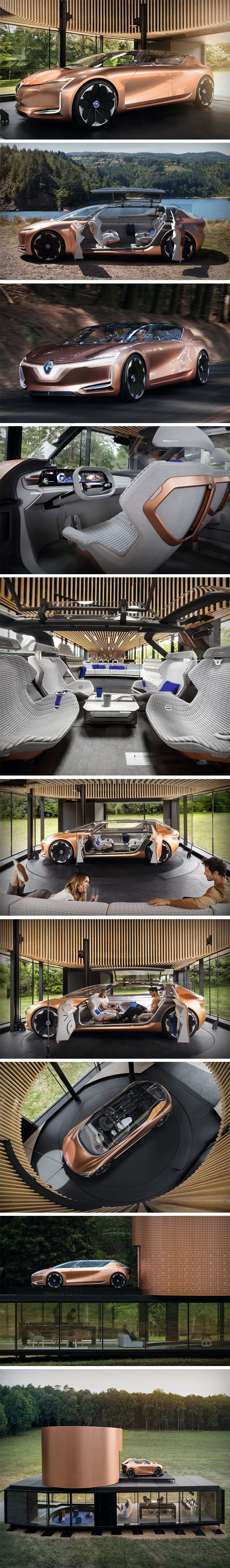 The SYMBIOZ is like nothing we've seen before. The idea of combining transportation and living spaces seems like something absurd to fathom. Toying with this idea, the SYMBIOZ is an extension of the future – connected – home. The SYMBIOZ doesn't skip a beat. The interior of the vehicle, designed by Aleksandra Gaca, is breathtaking. The inside of the SYMBIOZ is quite homely and inviting.