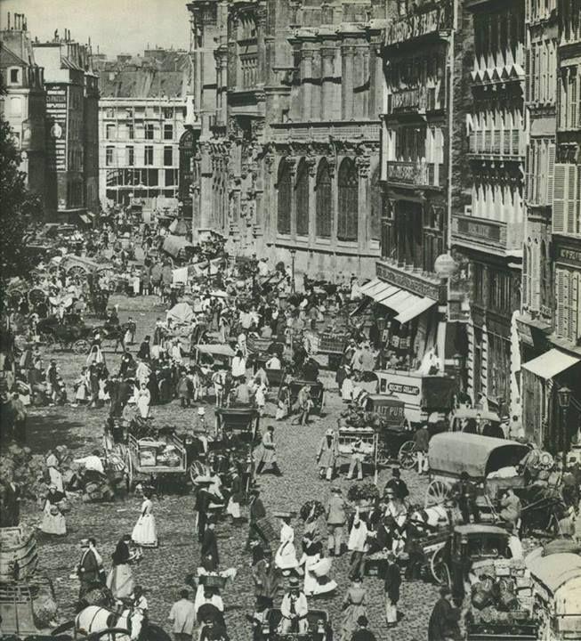 Paris 1er-3e-4e - Rue Rambuteau, Paris en 1897, déjà les encombrements! Paris d'antan, Facebook https://fbcdn-sphotos-e-a.akamaihd.net/hphotos-ak-prn2/t1/q71/s720x720/1560381_331737426968709_1442630299_n.jpg