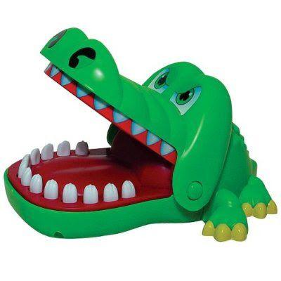 De krokodil met kiespijn