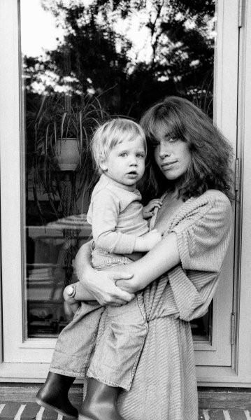 Carly Simon and son, Ben