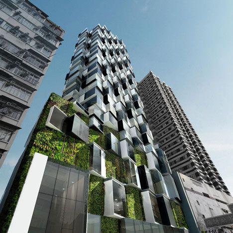 High Rise Modern Apartment Buildings