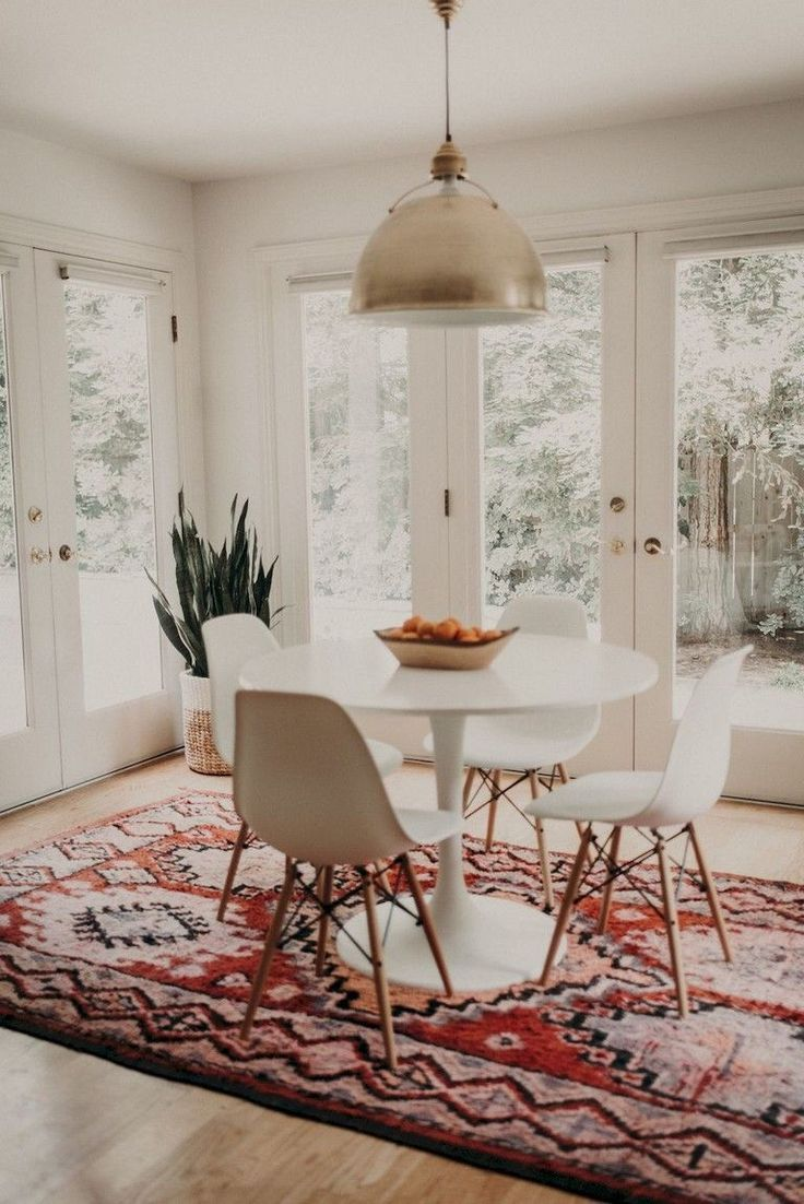 52 Cute Dining Room Rug Decorating Ideas Minimalist Dining Room Dining Room Design
