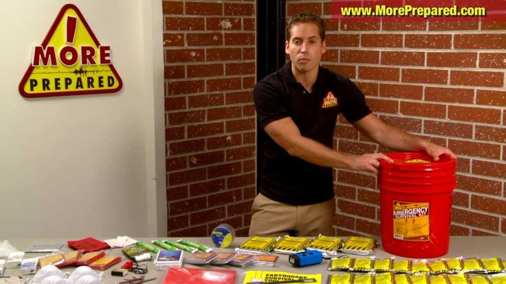 What To Do During An Earthquake - Emergency Preparedness Kits - More Pre...