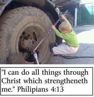 kid flat tire