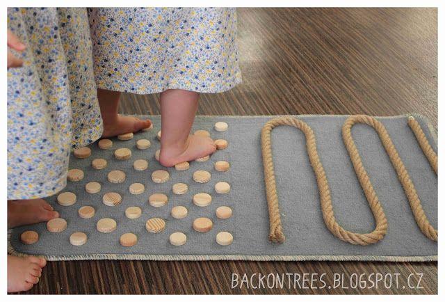 Back on Trees: Senzorický koberec / Sensory rug