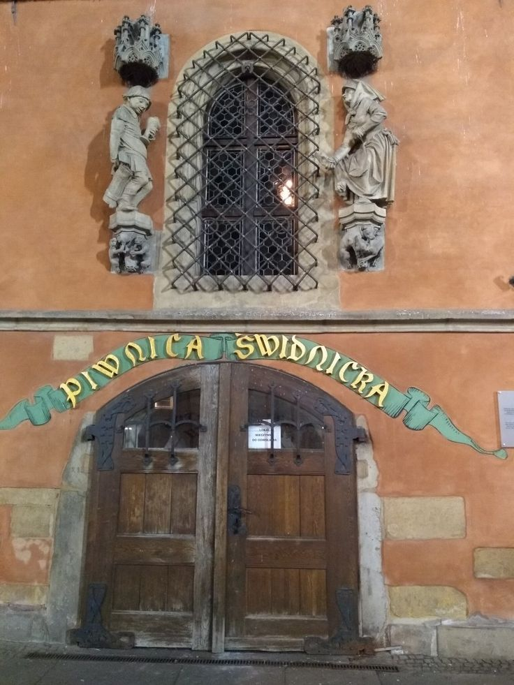 Porta de taverna medieval/Wroclaw PL 10/02/2018