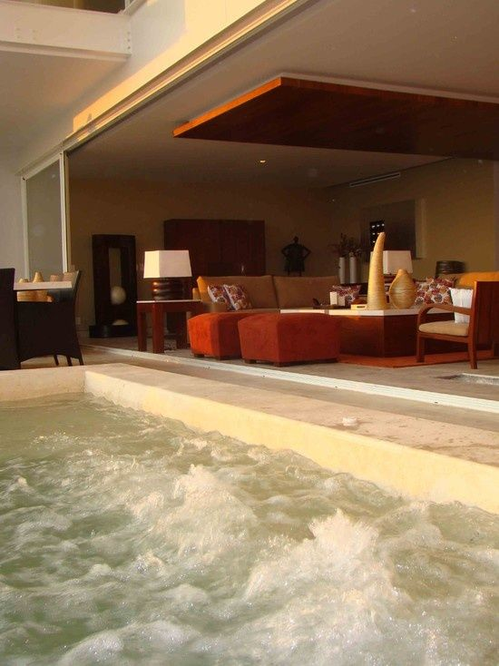 hot tub in living room 171 best images about pools amp tubs on 18943