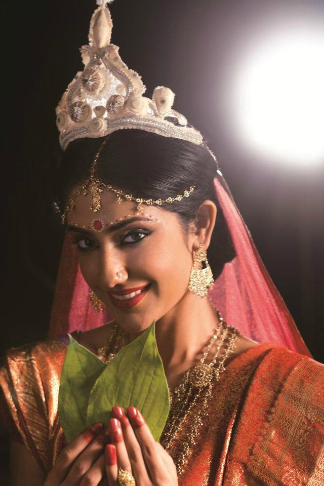 Bengali Bride Crosby on her wedding day #WestBengal State, #travel #tourism #kolkata #art #desi #socialmedia #india #kantinathbanerjee