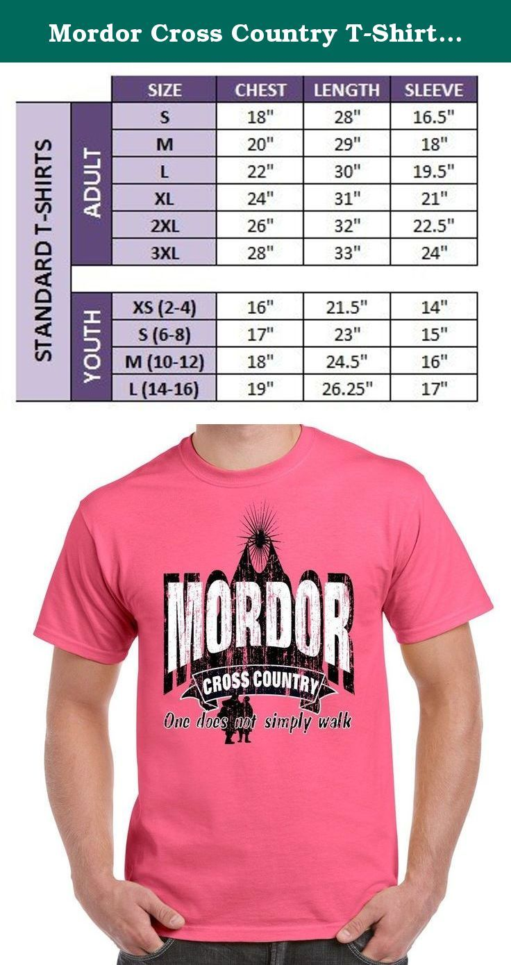 "Mordor Cross Country T-Shirt Youth L Neon Pink. It's not a homeschool shirt, but, we couldn't resist. If you are a member of the Mordor Cross Country Team, remember.....""One does not simply walk!""."
