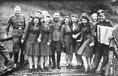 Auschwitz SS Guardians Frolic