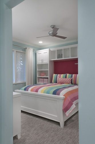 Design for Small Bedroom youth kids ideas for space. Full sized bed after toddler bed