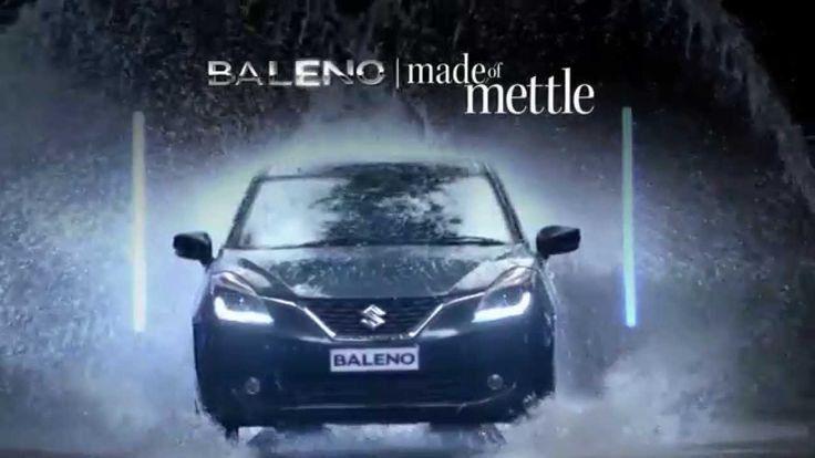 The bold and aggressive attitude of #Baleno.