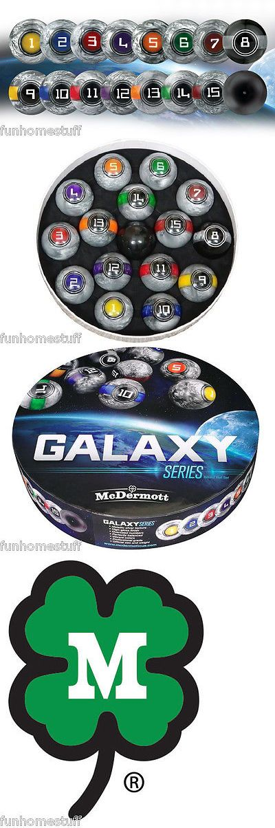 Complete Ball Sets 75193: New Unique Outer Galaxy Lunar Series Complete Standard Size Pool Table Ball Set -> BUY IT NOW ONLY: $189 on eBay!