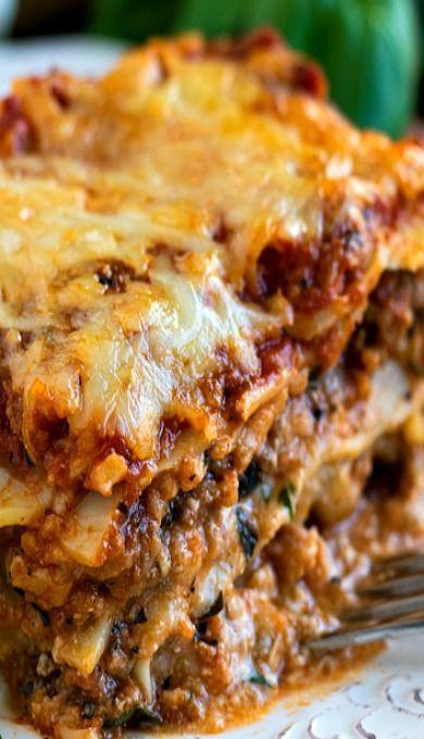 Classic Lasagna (gf pasta)