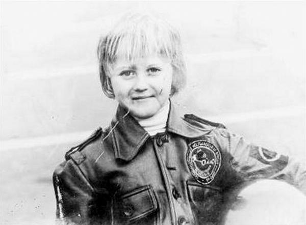 Michael Schumacher in childhood