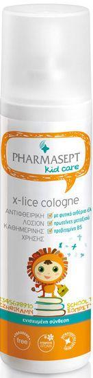 Pharmasept Tol Velvet X-Lice Cologne Αντιφθειρική Λοσιόν Καθημερινής Χρήσης που Προστατεύει & Περιποιείται τα Μαλλιά 100ml. Μάθετε περισσότερα ΕΔΩ: https://www.pharm24.gr/index.php?main_page=product_info&products_id=12931