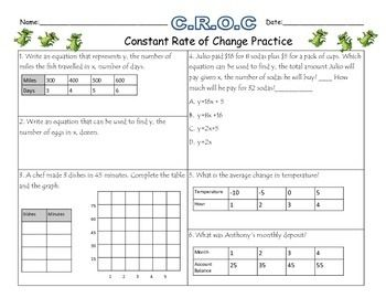 A practice sheet that can be used to demonstrate mastery of finding ...