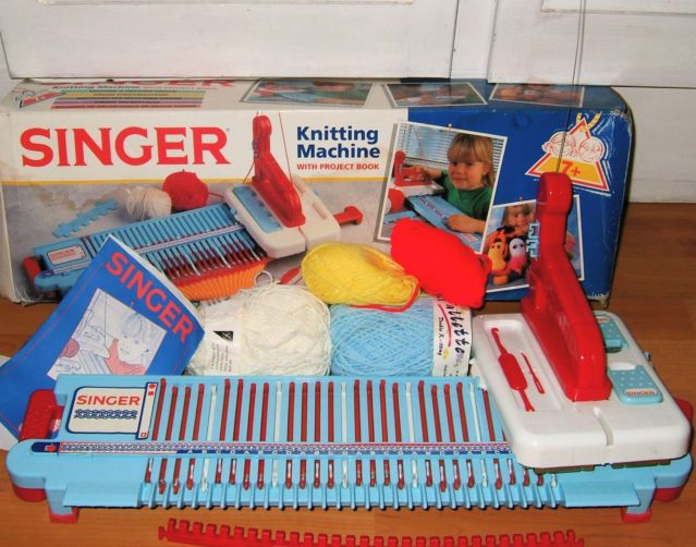 Loom Knitting For Kids : Best images about vintage childrens knitting machines