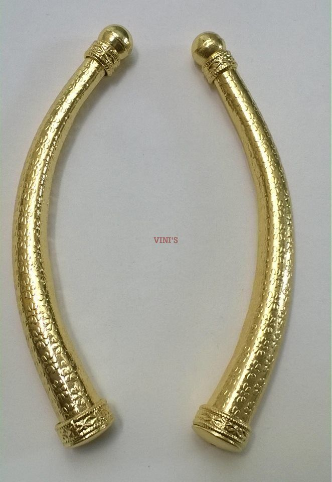 TB16 Gold Plated Rs 225 Length 105mm, Thickness 8 to 14mm