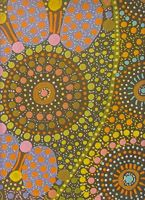 Aboriginal design Wrapping Paper Kerringke Arts - Josette Young 100cm x 70cm $4.00 each