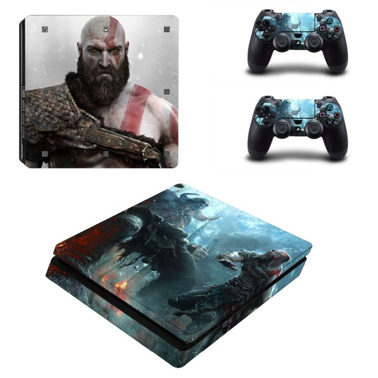 >> Click to Buy << PS4 Slim GOD OF WAR 3 Skin Sticker Decals Designed for PlayStation4 Slim Console and 2 controller skins  #Affiliate
