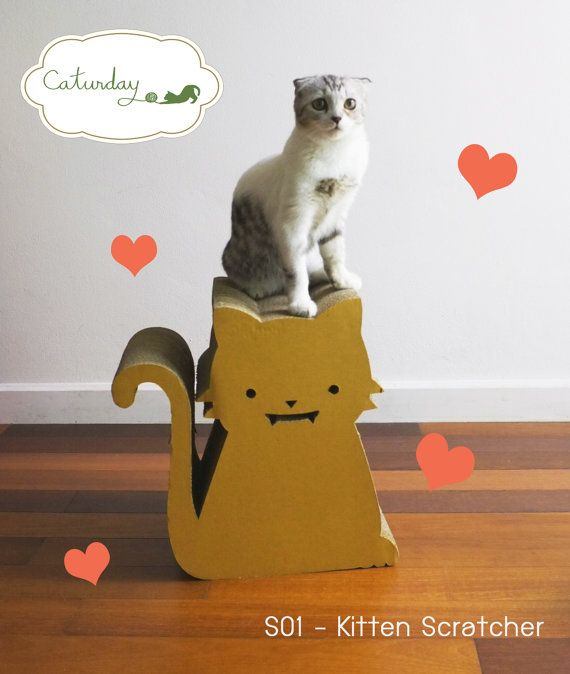Kitten Scratcher  premium cat scratcher in by CaturdayBangkok,
