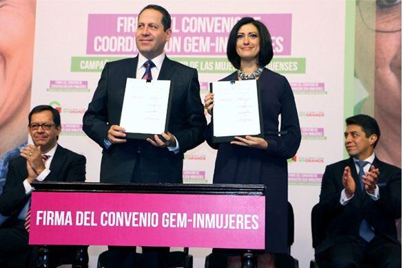 Firman Inmujeres y Estado de México Convenio por la Igualdad - http://plenilunia.com/noticias-2/firman-inmujeres-y-estado-de-mexico-convenio-por-la-igualdad/35922/