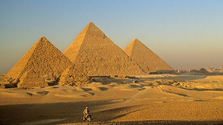 """'Breakthrough' discovery inside Giza Pyramid baffles scientists https://tmbw.news/breakthrough-discovery-inside-giza-pyramid-baffles-scientists  Scientists have discovered a secret, giant void hiding inside the Great Pyramid of Giza in Egypt. Located above the pyramid's Grand Gallery, the 30-meter-long void inside Khufu's Pyramid remains a mystery.Its size suggests it plays an important role in the tomb's structure. It's the first discovery of its kind since the 19th century.""""These results…"""