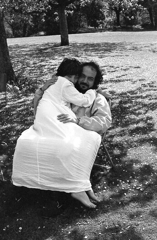 Amesbury, UK in 1974: Stanley #Kubrick with his daughter Vivian, a day ...