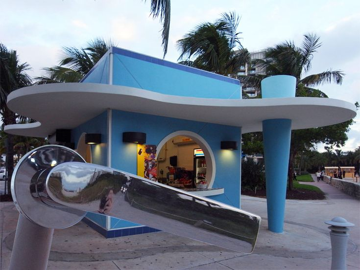 konstantin grcic's 'meta' doorhandle stopping off at one of miami's art deco bodegas for some refreshments
