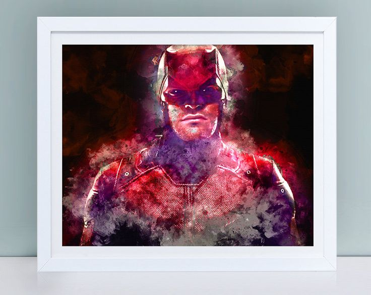 Daredevil TV series print, Daredevil digital print, Daredevil suit, Daredevil costume, Daredevil instant download print, Daredevil wall art by TinyCuteShop on Etsy