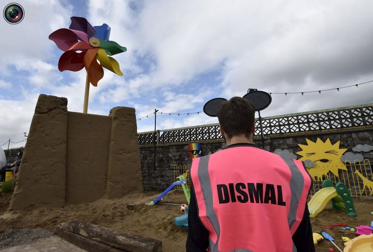 Dismaland: Spoof Disney Theme Park by Banksy