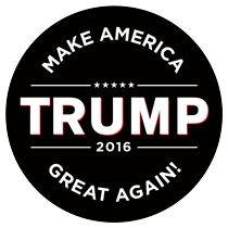 Donald Trump for President 2016 Bumper Sticker.......YES!!!