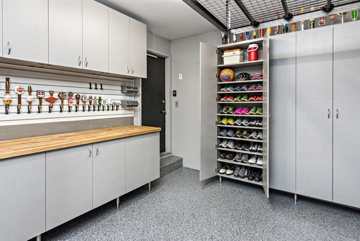 Custom Garage Cabinets And Garage Shelving By Closets For Life