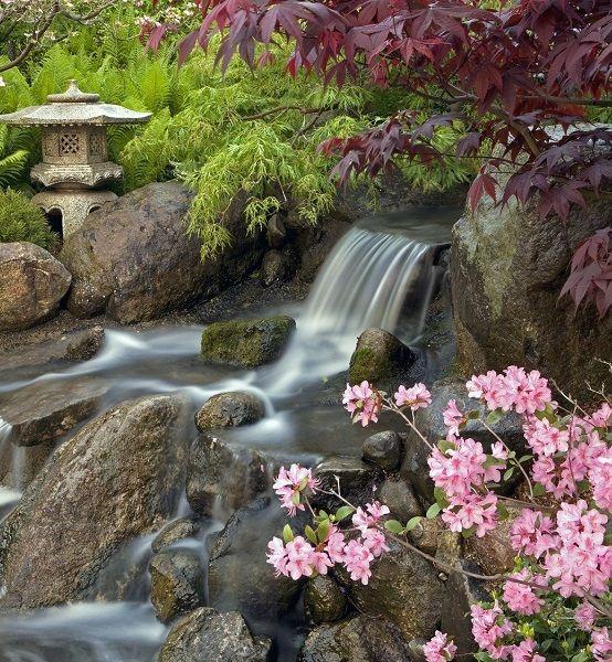 Gallery Of Japanese Garden Waterfall
