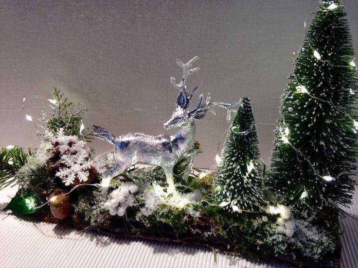 Weihnachtsdeko - Weihnachtsdeko beleuchtet - ein Designerstück von gittirai bei DaWanda