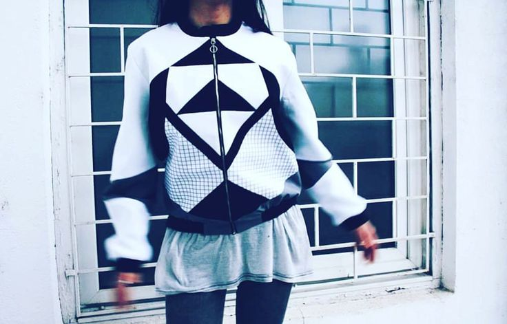 """Lupina"" bomber jacket - street, urban, edgy, casual style on www.instinctive.ro   urban wear    street   fashion style   design"