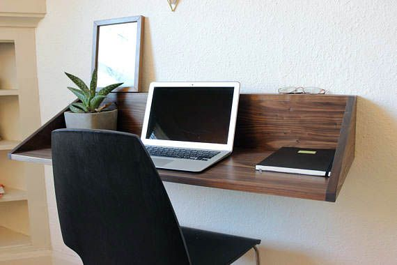 Cool And Contemporary Floating Desk Assembly Made Easy Small Apartment Furniture Floating Desk Furniture