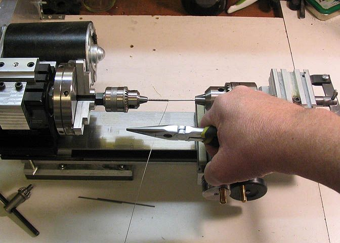 Making Springs on the Small Lathe