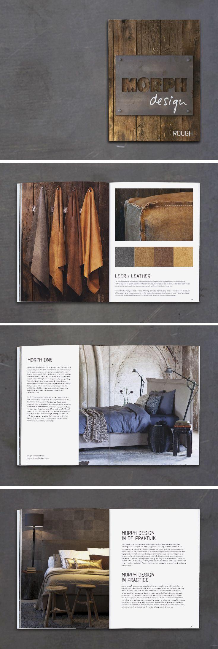 Morph Design Rough, ontwerp lay-out en vormgeving #magazine voor #MorphDesign @morphdesignnl