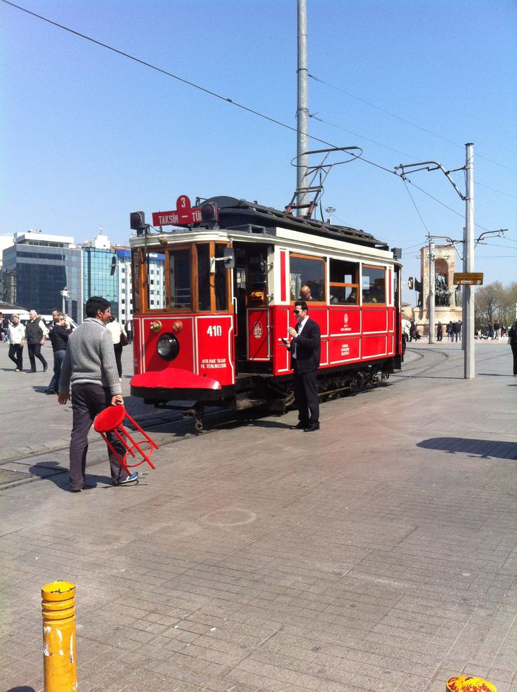 Tramway,Taksim square İstanbul/Turkey