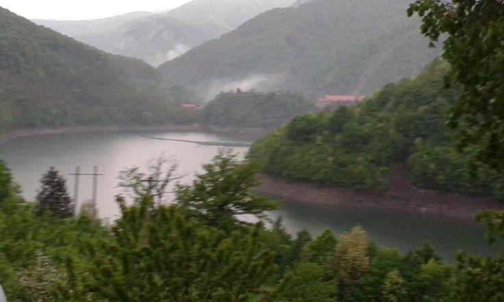 Artificial lake, Cerna Valley